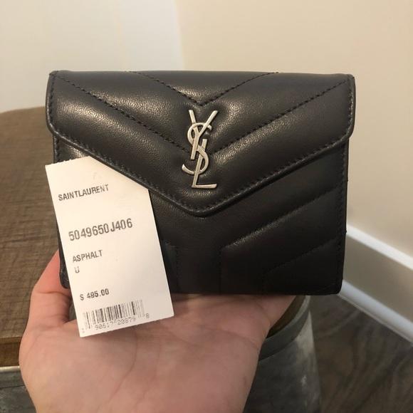 720eb793140 Yves Saint Laurent Bags   Ysl Loulou Compact Wallet   Poshmark
